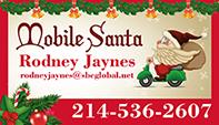 Mobile Santa